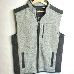 Orvis Mens Large Vest Nylon Polyester Fleece NWOT